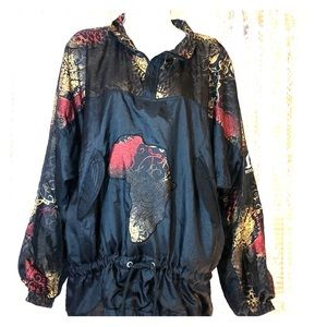 Vintage 1980-1990's MOVE pullover jacket